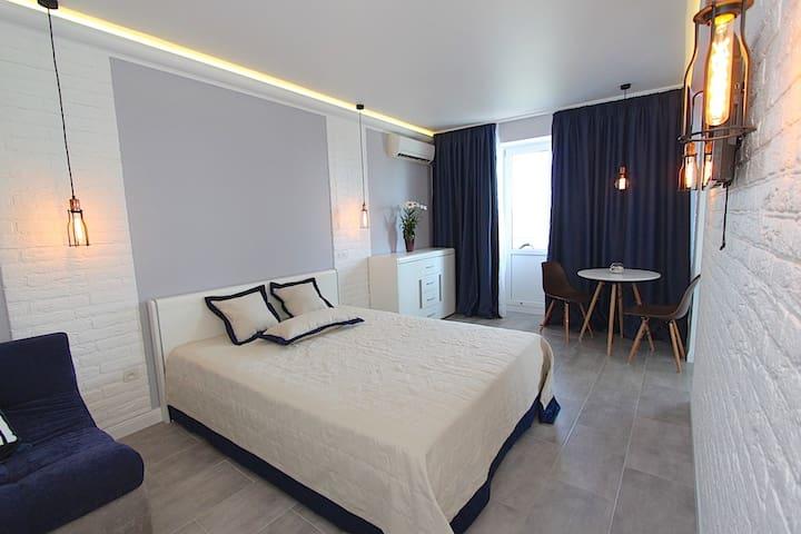 Квартира с видом на море в Феодосии