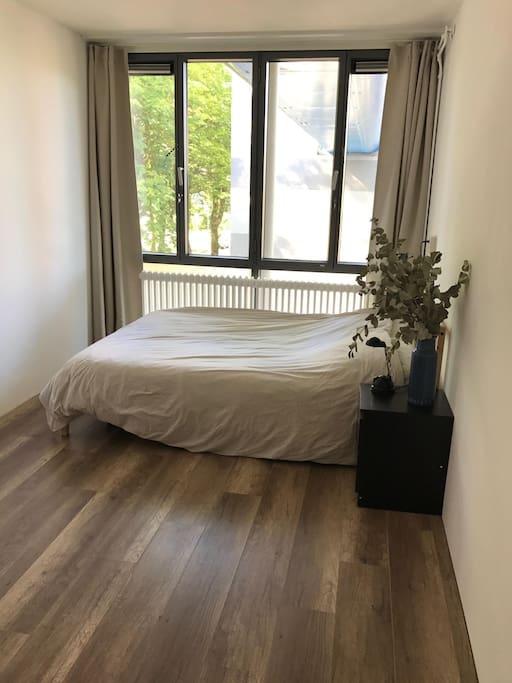 Bedroom 2, double bed, (1.40 x 2.00)