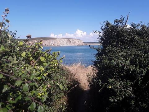 Kerloch maison  vue mer