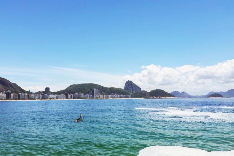 Sorria, vc está em Copacabana