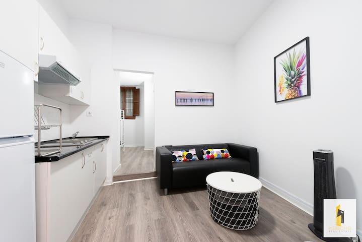 Acogedor apartamento en Madrid barrio la Latina