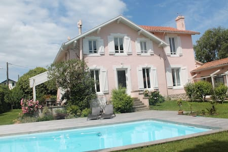 Villa Biarritz piscine jardin - Biarritz - Villa