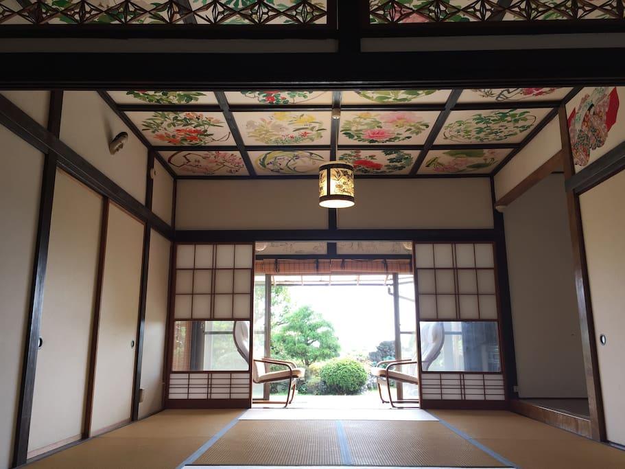 chambre traditionnelle en tatami maisons louer it shi shizuoka ken japon. Black Bedroom Furniture Sets. Home Design Ideas