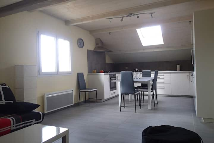 Appartement T4 neuf, sud de Gap