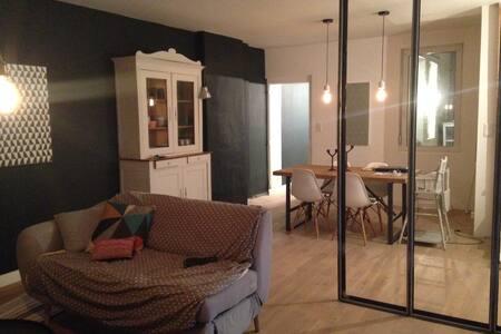 Chambre 14 m2 avec lit double - Şehir evi