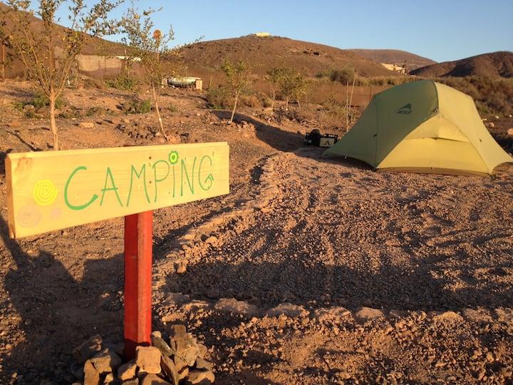Camping auf Fuerteventura