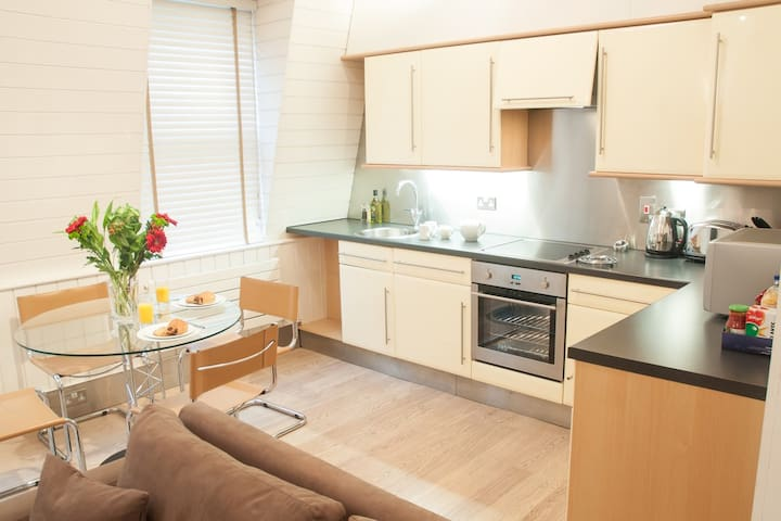 Stylish Central City 1 bedroom apartment, close to Liverpool St station (Artillery)