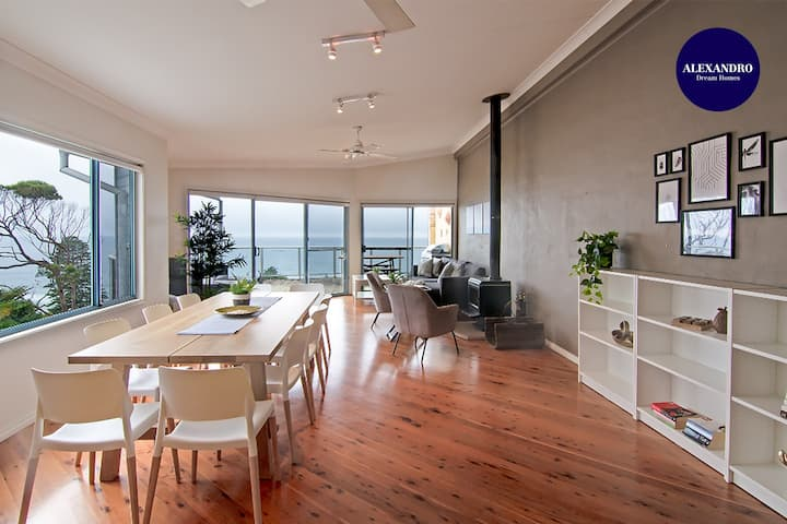 AVOCA HEIGHTS / OCEAN VIEWS / BBQ & FIRE PLACE LUX