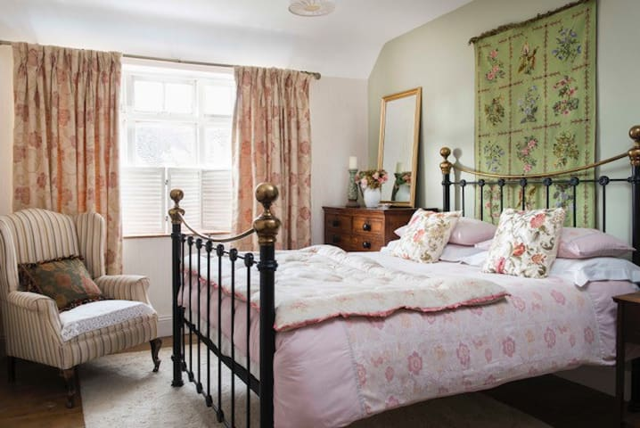 Double room in a former Cotswold Pub