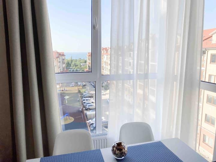 Новая квартира с видом на МОРЕ | ЖК Горизонт