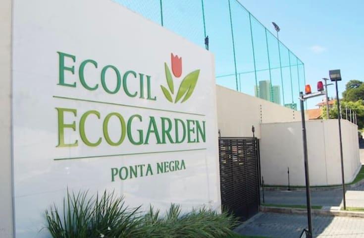 Apartamento novo e aconchegante em Ponta Negra