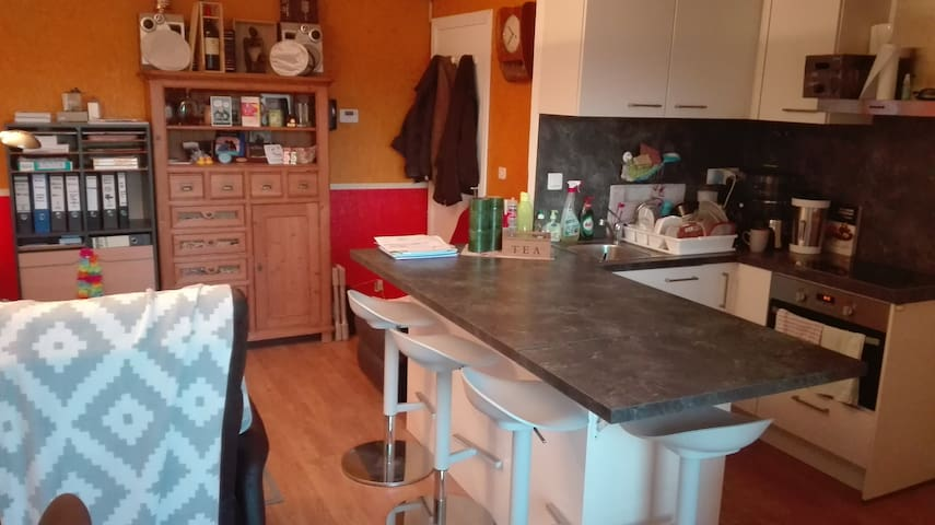 Appartement F2 (2 lits doubles/max 4 pers)
