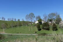 Entire property set in beautiful Virginia hills