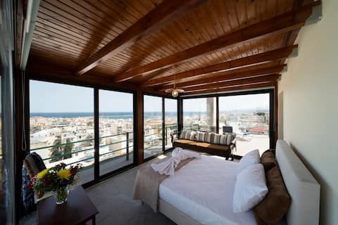 Thea Studio with breathtaking view!