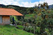 Cabaña en La Cocha.
