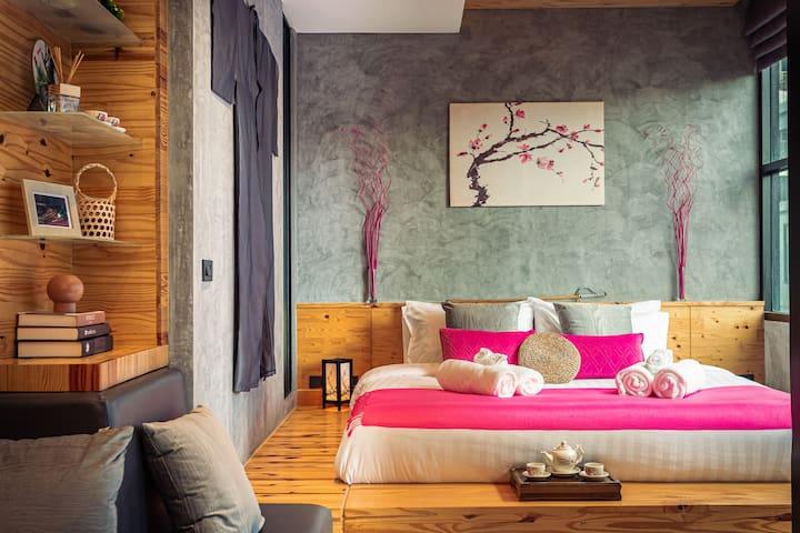 New cozy design studio apartment in Nai Harn
