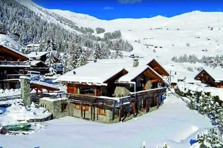 Perfect Chalet 9BD ⭐Spacious,Luxury