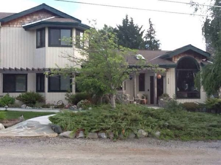Front of our distinctive, country home, 5 minutes from downtown Ashland