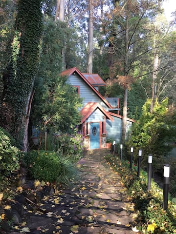 Beautiful in Autumn, Set among mountain ash and tree ferns, Wild Orchid Olinda is a Private self-contained cottage in the Dandenong Ranges Victoria, Australia. The perfect place to have some time out, retreat into nature - recharge and relax.
