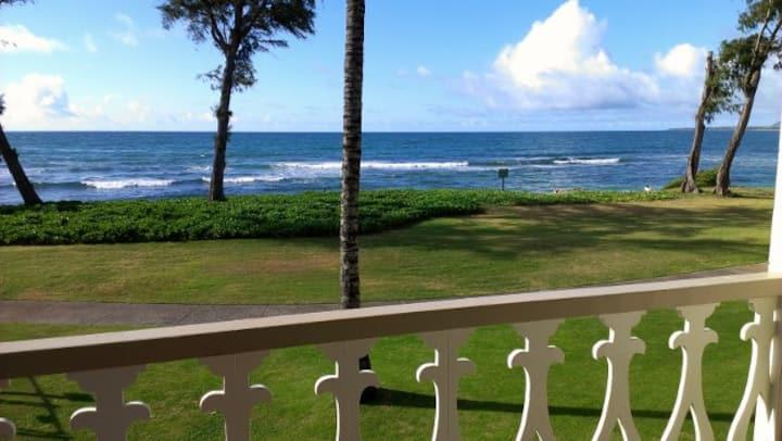 Kauai Direct Oceanfront On Corner Condo #245