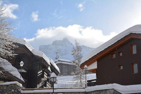 Stijlvol appartement in de Franse Alpen
