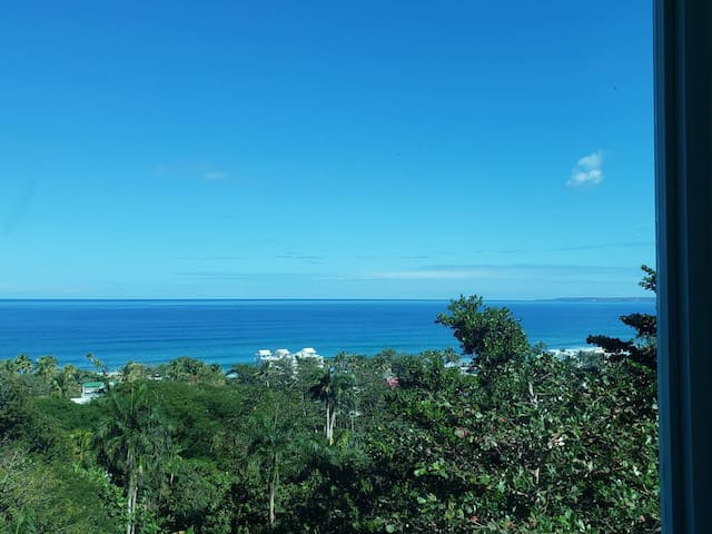 View from room, North Shore of PR