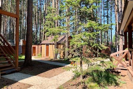 3 bedrooms next to Baikal lake