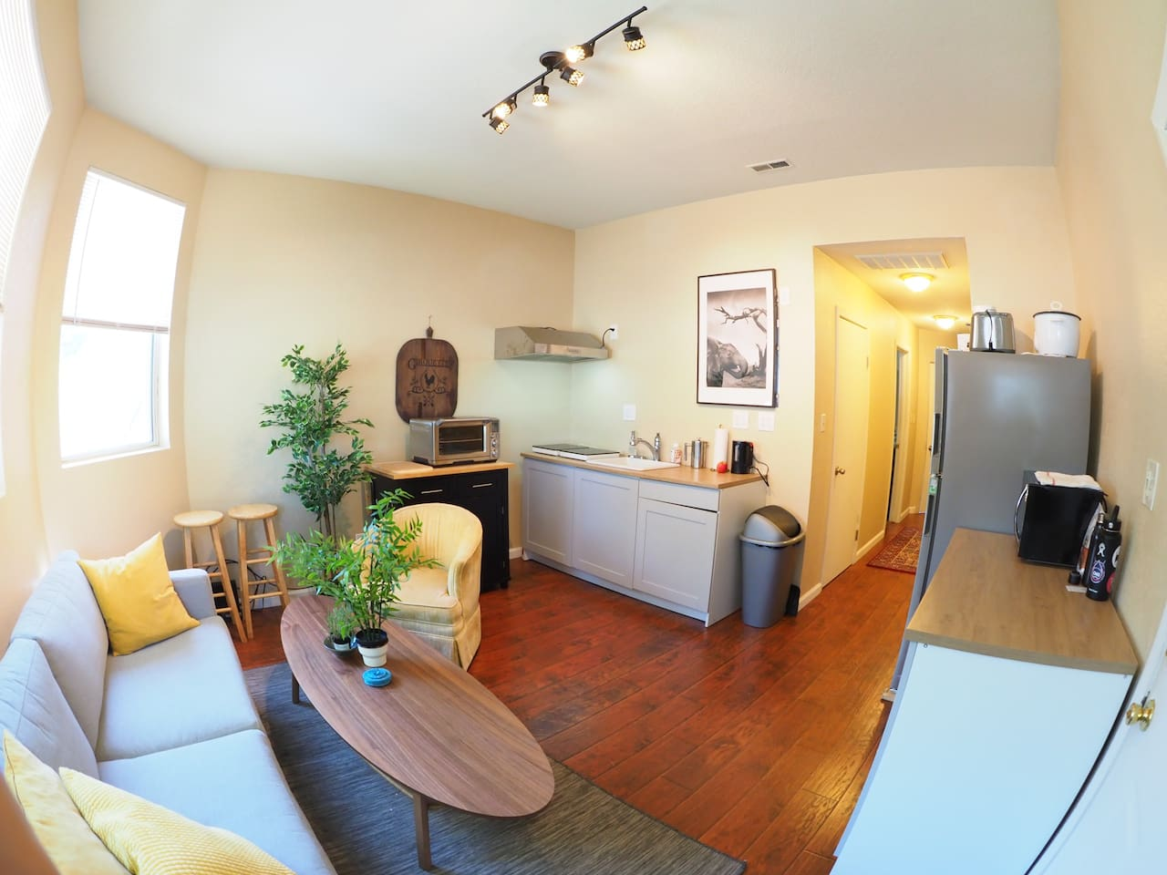 Shared Kitchenette and Living Room