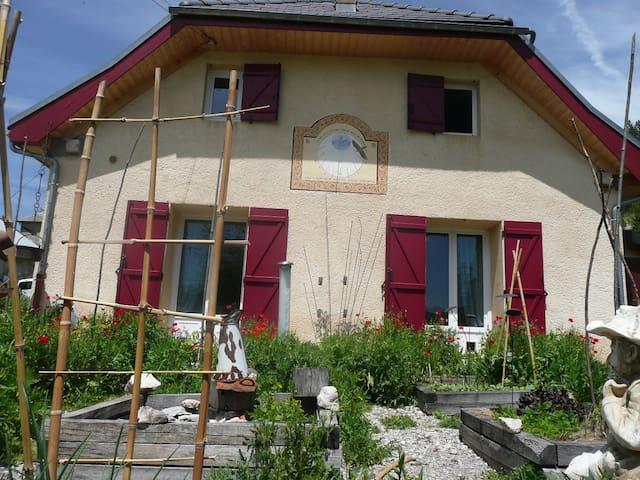 """Chambres et Table d'hôtes - """"Après Les Cols"""" - Lus-la-Croix-Haute - Guesthouse"""