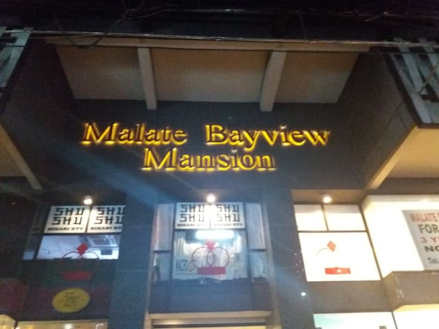 Malate Bayview Mansion 27 with Balcony &bedroom