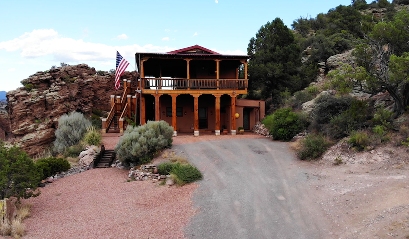 Secluded, Private Southwest New Mexico Adobe Home, Stunning Views