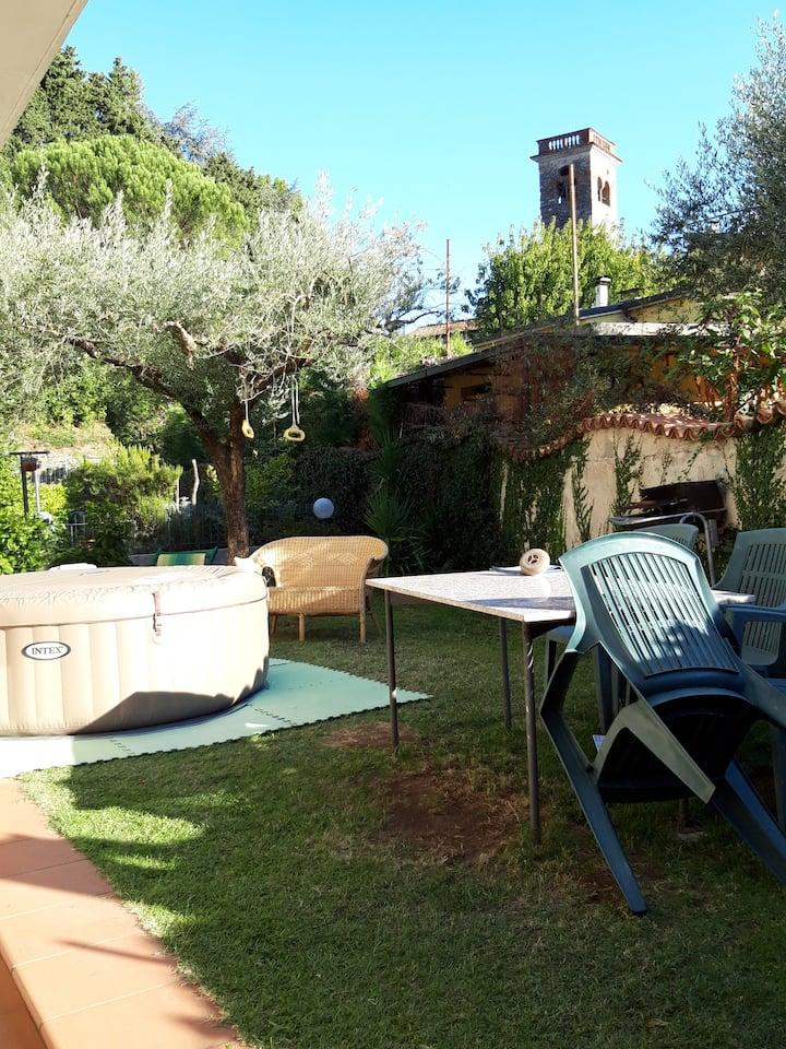 Lucca appartamento vicino alla citta'  con spa