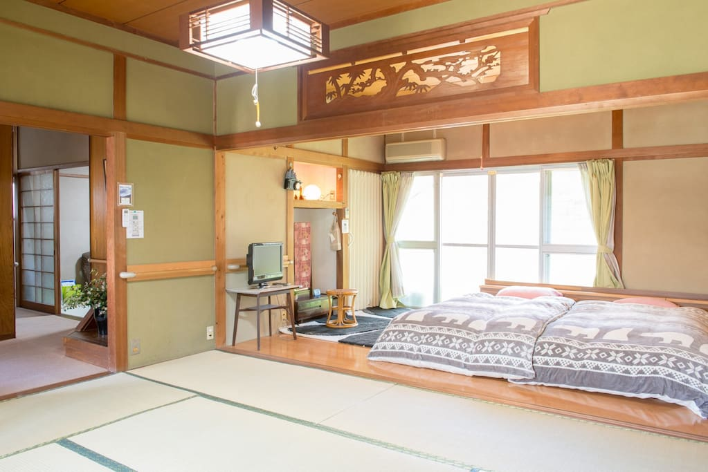 Bed room and Tatami room