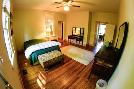 Private Suite in Historic St. Elmo - Chattanooga - Huis
