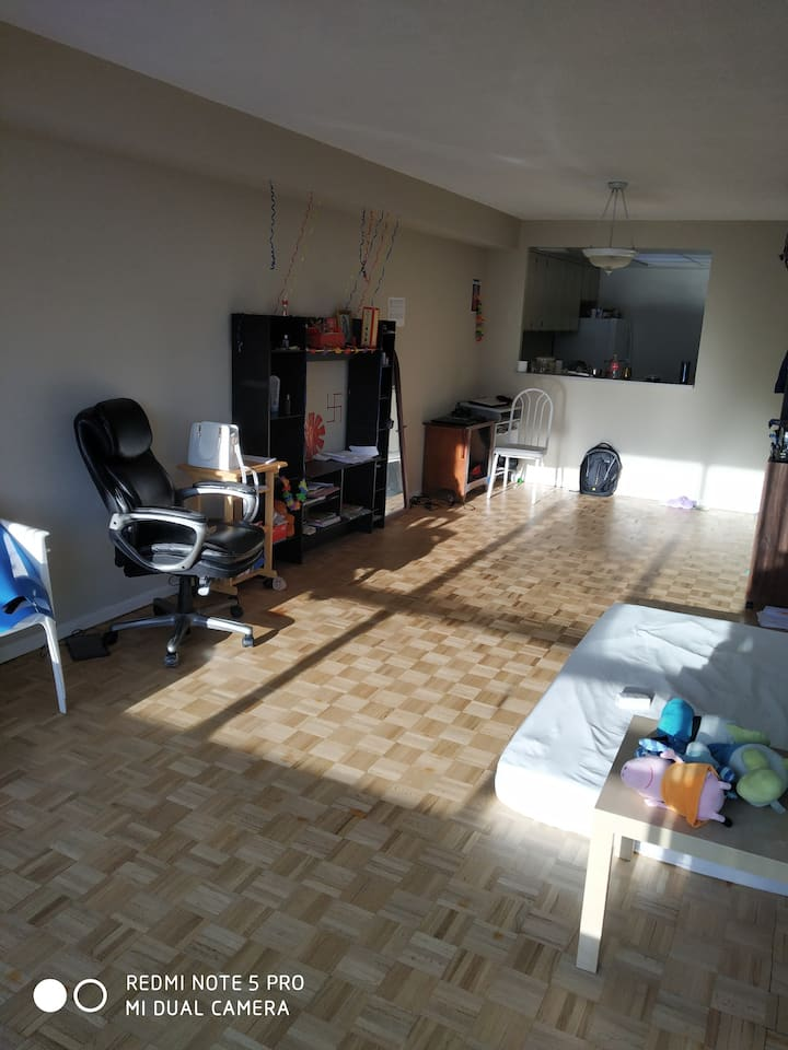 Shared rental place for working males in Brampton