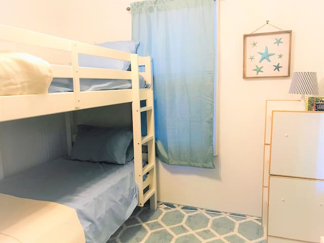 Bedroom #3: Perfect for kids or kid-like adults!