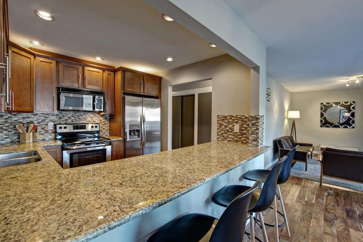 Large Condo Minutes From Downtown Bellevue - Bellevue - Leilighet