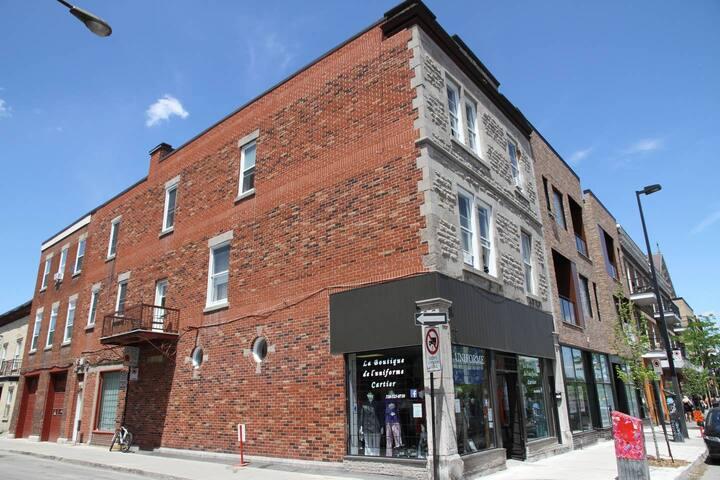 Chambre  a bon prix dans le centre-sud de Montréal