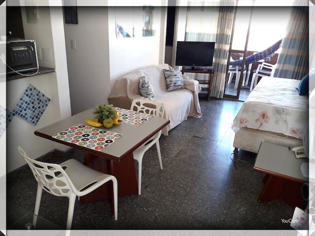 FLAT BEIRA MAR for 3 persons + 1