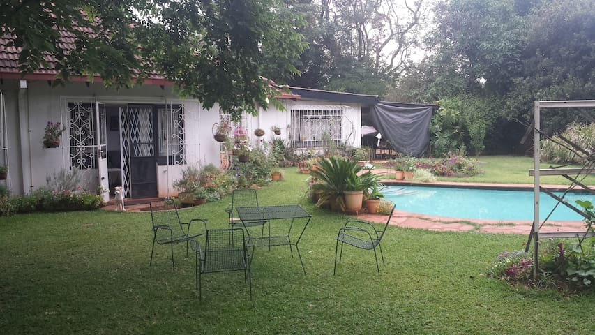 Comfortable family home with beautiful garden - Harare - Rumah