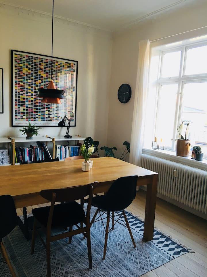Lækker og hyggelig lejlighed i hjertet af Esbjerg