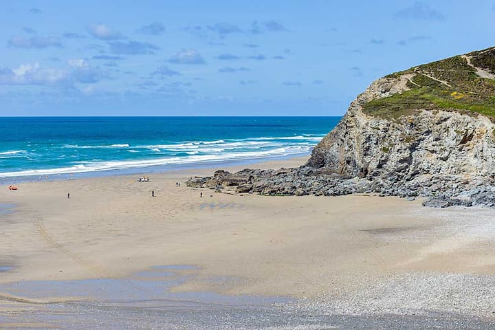 Beach annex, level short walk to superb beach - Porthtowan - Apartment