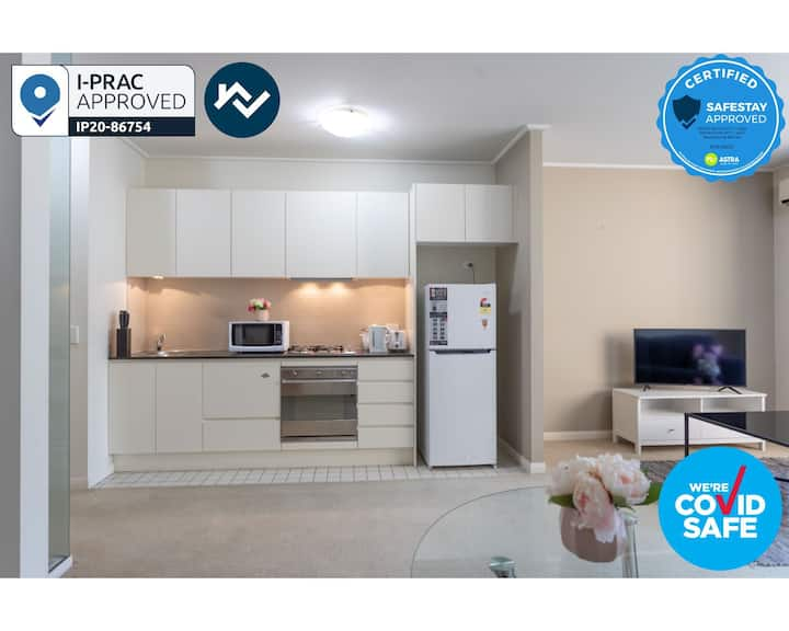 Corporate 1BR|1BA Apartment in North Sydney