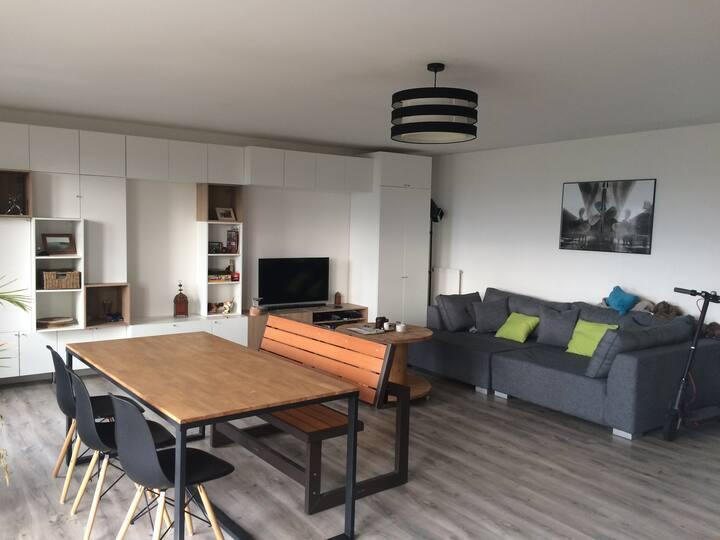 Appartement lumineux et spacieux