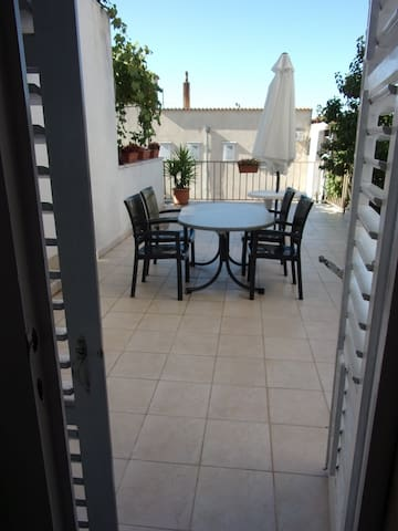 Nice apartment with big terrace - Makarska - Lejlighed