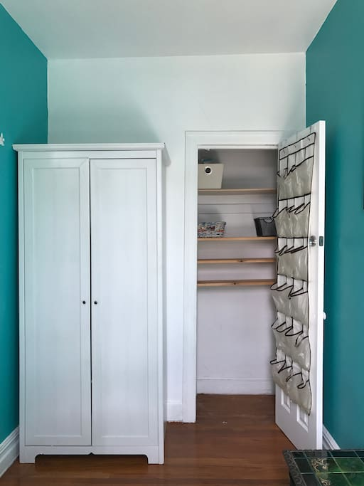 Ample storage for your belongings.