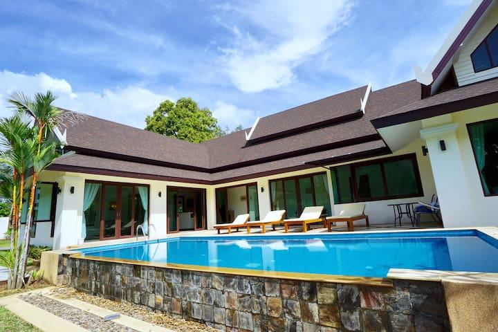 Villa Naka Krabi and private pool - Tumbon. Ao Nang - Talo