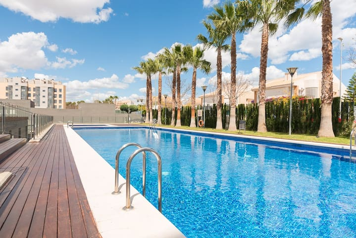 Apartment 800m from the beach - El Campello