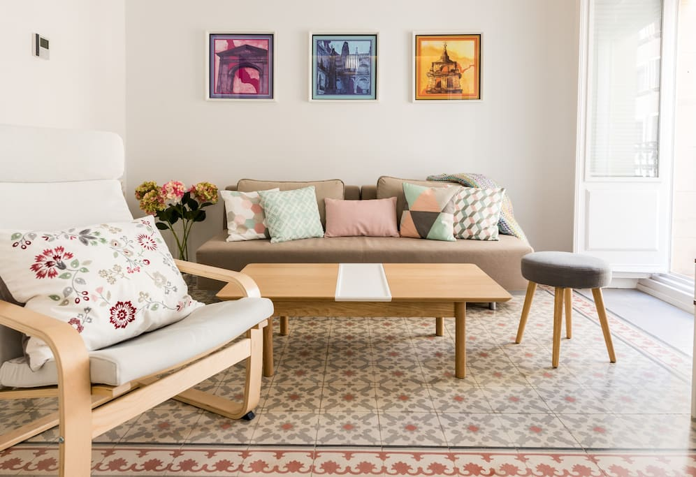 Salón, sala de estar