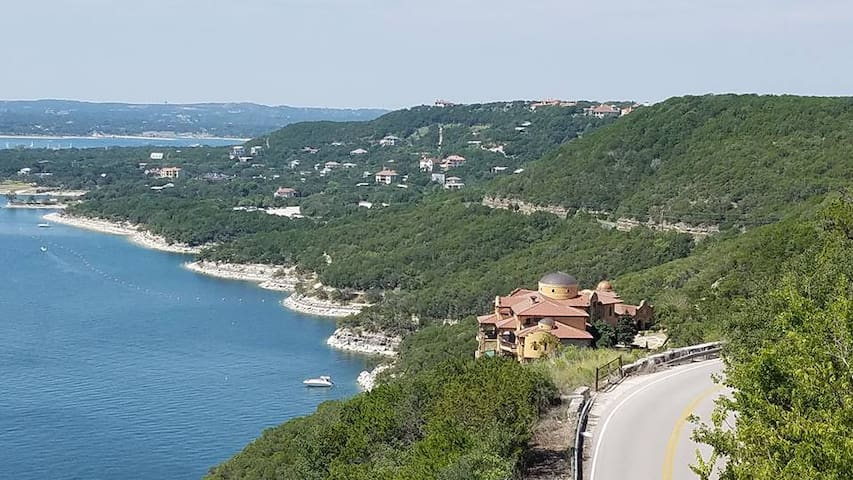 One of the most exclusive areas of Lake Travis